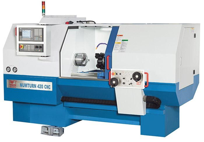 KNUTH Cycle-Controlled CNC Lathe Numturn 420 SI