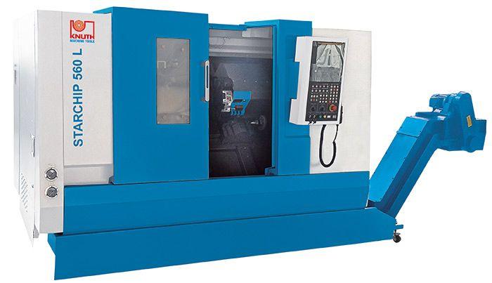 KNUTH CNC FLAT BED LATHE MACHINE STARCHIP 560