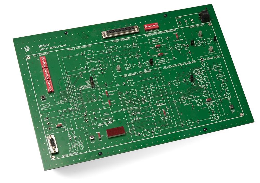EV Digital Communication Trainer-2 MCM31/EV