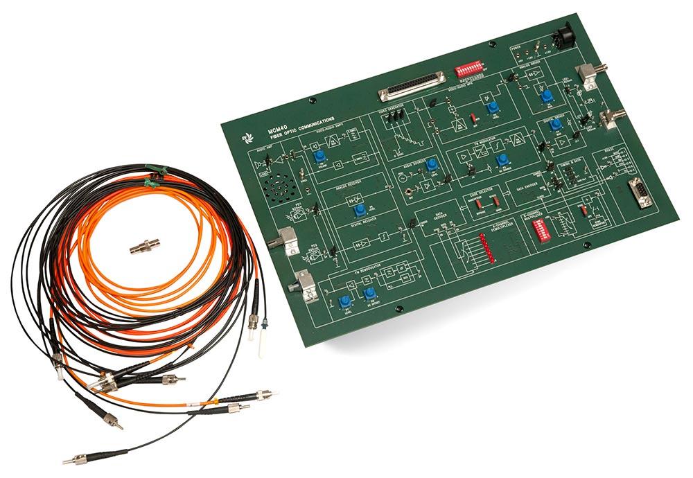 EV Fiber Optic Communication Trainer MCM40/EV