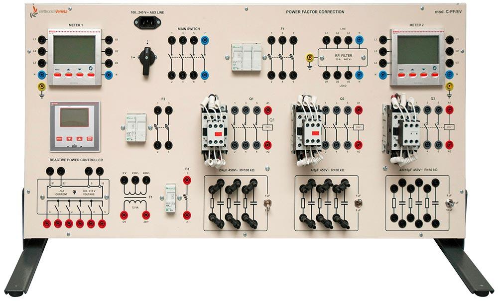EV AUTOMATIC POWER FACTOR CORRECTION SYSTEMS Mod. C-PF/EV