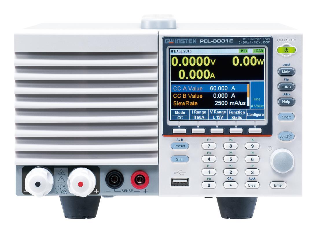 GwInstek Programmable DC Load PEL-3000E
