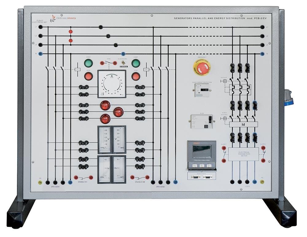 EV MODULE FOR PARALLEL OF GENERATORS Mod. PCB-2/EV