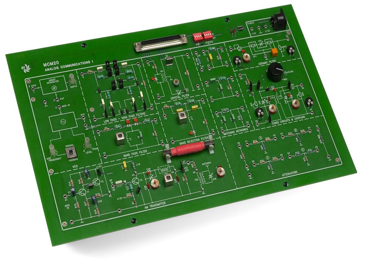 EV Analog Communication - I (Tuned Circuit) MCM20/EV