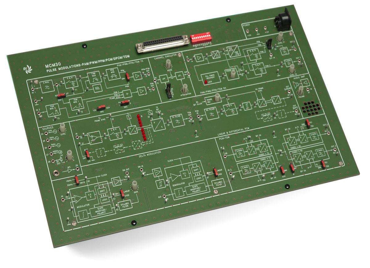 EV Digital Communication Trainer-1 MCM30/EV