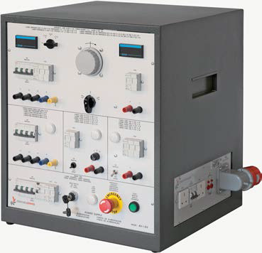 EV TABLETOP POWER SUPPLY UNIT FOR ELECTRIC MEASUREMENTS AND MACHINES Mod. AV-1/EV