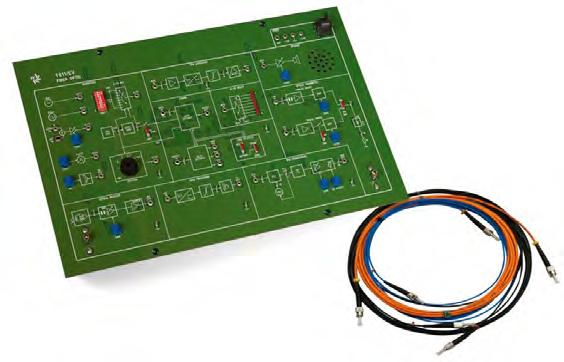 EV Fiber Optic Communication Trainer T611/EV