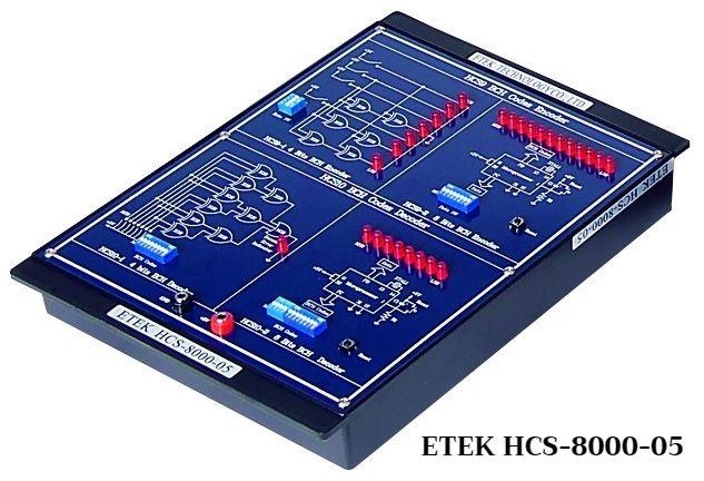 ETEK High Level Communication Trainer HCS-8000