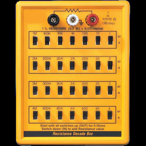 Lutron Resistance Decade Box RBOX-408